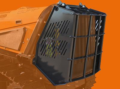 robomax - protection radiateur - energreen france porte outils professionnels