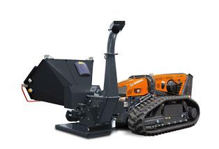 robomax - equipement - broyeur de branches - bio shredder - energreen france porte outils professionnels