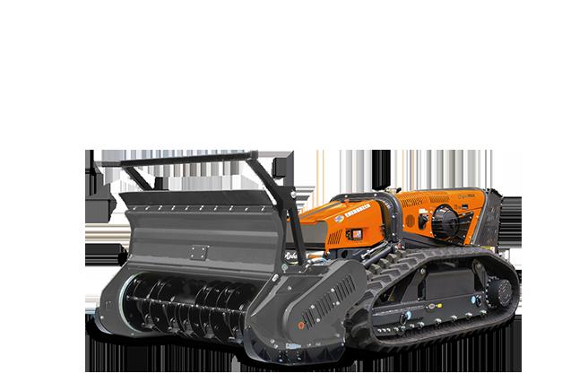 robomax - equipement - tete forestier à marteaux tournants - forestry 150h - energreen france porte outils professionnels