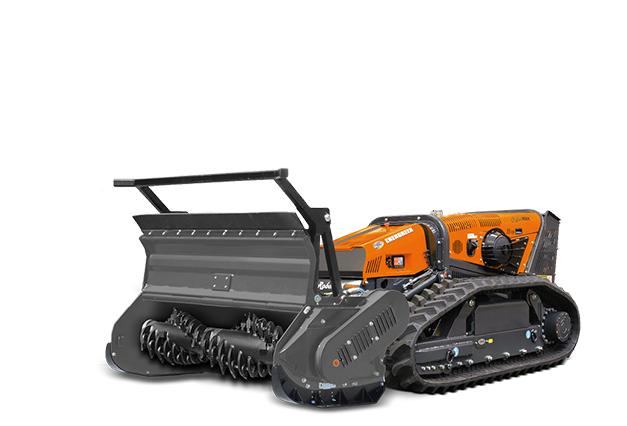 robomax - equipement - broyeur forestier à dents fixes - forestry 150t - energreen france porte outils professionnels