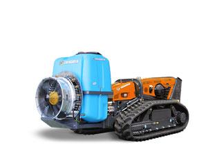 robomax - equipement - EG400 pulverisateur - sprayer - energreen france porte outils professionnels