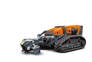 robomax - equipement - rogneuse de branches - stump grinder - energreen france porte outils professionnels