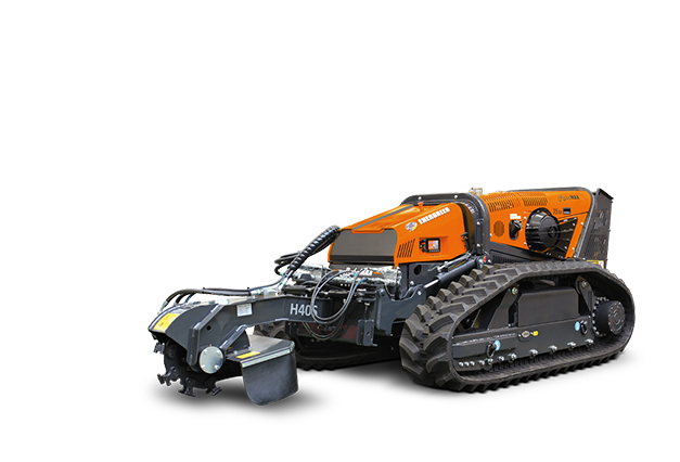 robomax - equipement - rogneuse de souches - stump grinder - energreen france porte outils professionnels