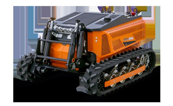 robomini - robot télécommandé - energreen france porte outils professionnels