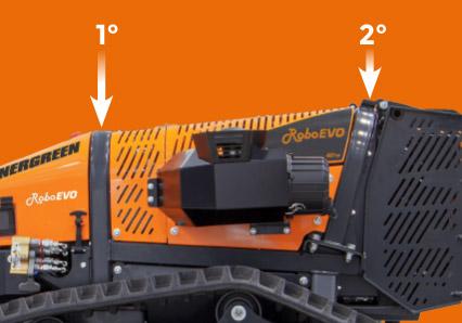 roboevo - double roll bar - energreen france porte outils professionnels
