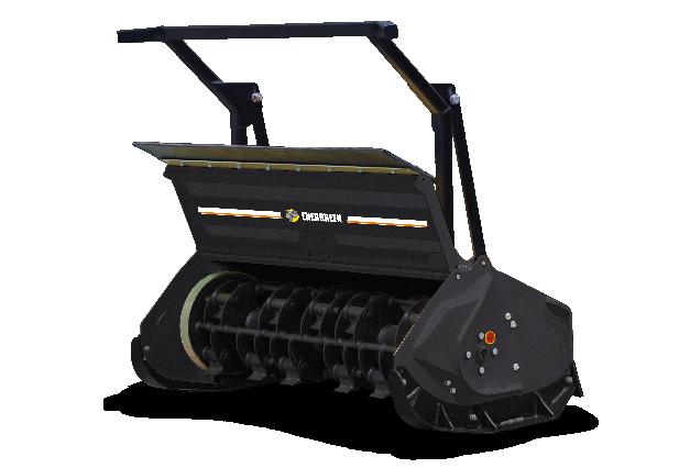 roboevo - equipement - broyeur forestier marteaux tournants - forestry 130h - energreen france porte outils professionnels
