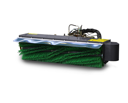 robomini - balai frontale - energreen france porte outils professionnels