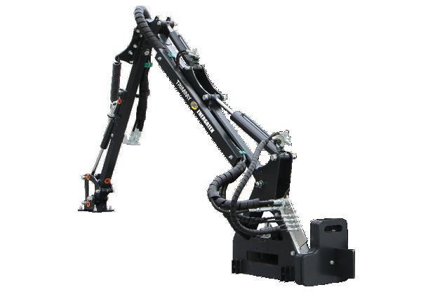 roboevo - equipement - bras - trimmy - energreen france porte outils professionnels