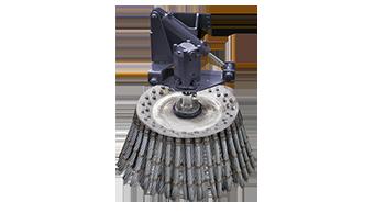 equipements professionnels - brosse métalique - iron brush - brosse de désherbage - energreen france porte outils professionnels