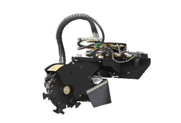 roboevo - equipement - rogneuse de souches - stump grinder - energreen france porte outils professionnels