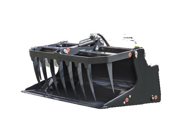 roboevo - equipement - benne preneuse - grapple bucket - energreen france porte outils professionnels