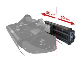 roboevo - equipement - side shift - energreen france porte outils professionnels