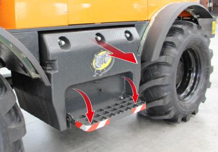 ilf alpha - ballast mobile avec marche - automoteur de fauchage multifonction - energreen france porte outils professionnels
