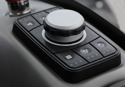 ilf alpha - bouton de navigation - automoteur de fauchage multifonction - energreen france porte outils professionnels