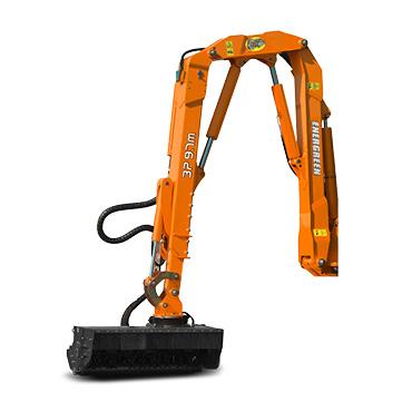 ilf alpha - bras 3p - automoteur de fauchage multifonction - energreen france porte outils professionnels