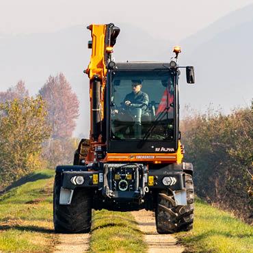 ilf alpha - cabine tournante - automoteur de fauchage multifonction - energreen france porte outils professionnels