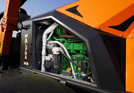 ilf alpha - moteur john deere - automoteur de fauchage multifonction - energreen france porte outils professionnels
