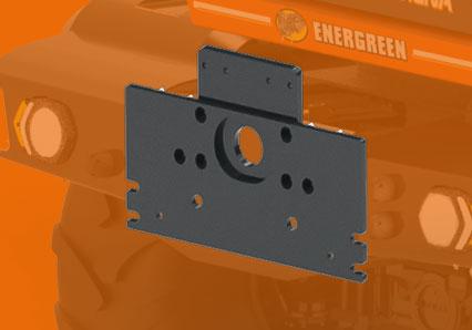 ilf alpha - plaque din - automoteur de fauchage multifonction - energreen france porte outils professionnels