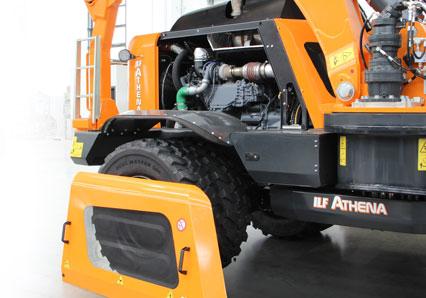 ilf athena - accès moteur - debroussailleuse autoroute - energreen france porte outils professionnels