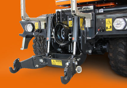 ilf athena - attelage frontale - debroussailleuse autoroute - energreen france porte outils professionnels