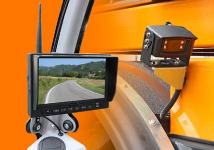 ilf athena - ècran camera de recul - debroussailleuse autoroute - energreen france porte outils professionnels