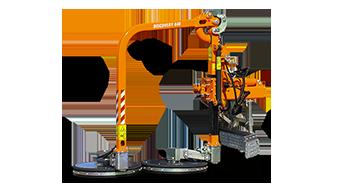 equipements professionnels - faucheuse sous glissière - raiber discovery - fauchage glissière - energreen france porte outils professionnels