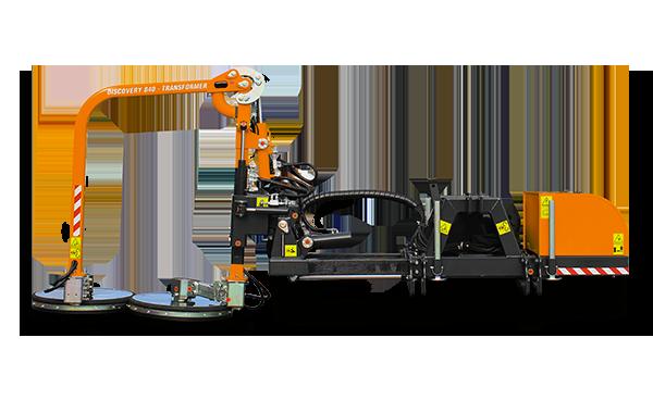 equipements professionnels - faucheuse sous glissière - raiber transformer - fauchage glissière - energreen france porte outils professionnels