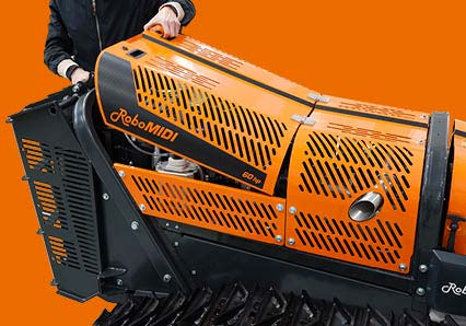 robomidi - robo multifonction - compartiment moteur - energreen france porte outils professionnels