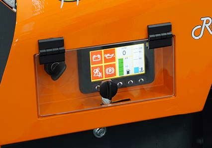 robomidi - robo multifonction - écran couleur - energreen france porte outils professionnels