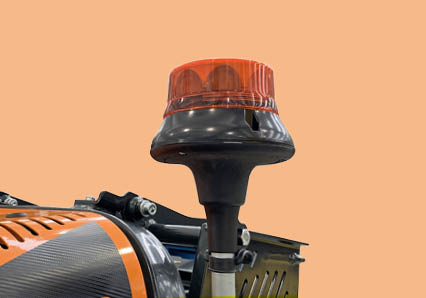 robomidi - robo multifonction - gyrophare led - energreen france porte outils professionnels