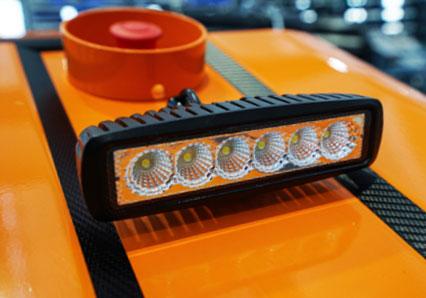 robomidi - led phare - robo multifonction - energreen france porte outils professionnels