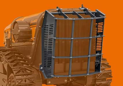 robomidi - robo multifonction - protection radiateur acier - energreen france porte outils professionnels