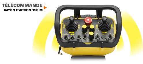 robo - télécommande - rayon action - energreen france porte outils professionnels