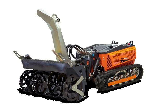 robomini - equipement - snow blower - fraise neige - energreen france porte outils professionnels
