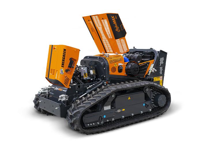 robomax - qualité composants - energreen france porte outils professionnels