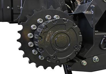 robomax - roues dentées - energreen france porte outils professionnels