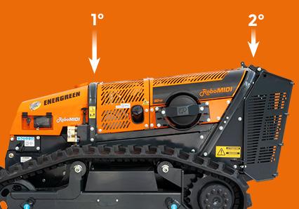 robomidi - double roll bar - qualité des composants - energreen france porte outils professionnels