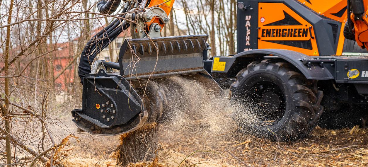 equipement professionnels - tete forestier - energreen france porte outils professionnels