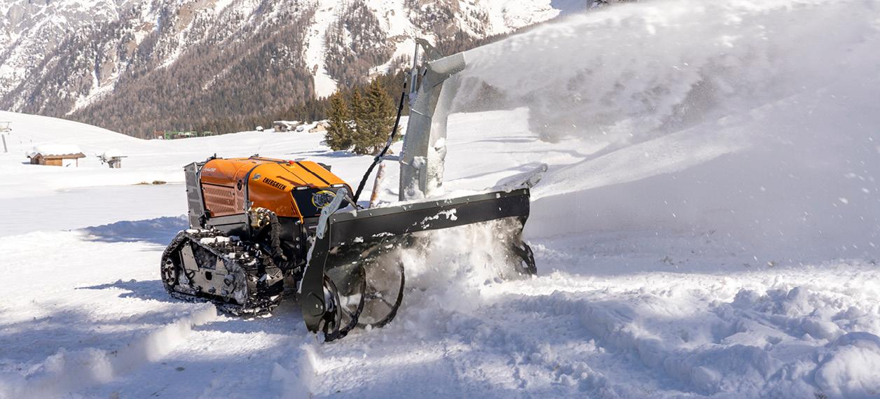porte outils - roboevo - fraise à neige - energreen france porte outils professionnels