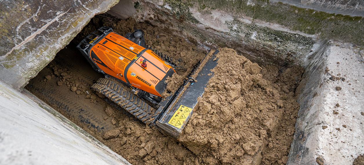 porte outils - roboevo - godet - energreen france porte outils professionnels